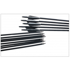 """Skillful Hill Archery - 30"""" Carbon Arrows (1, 6ct, 12ct)"""